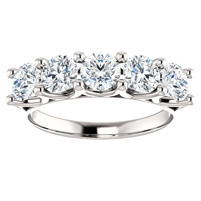 band diamond stone worldjewels a carat bands wedding