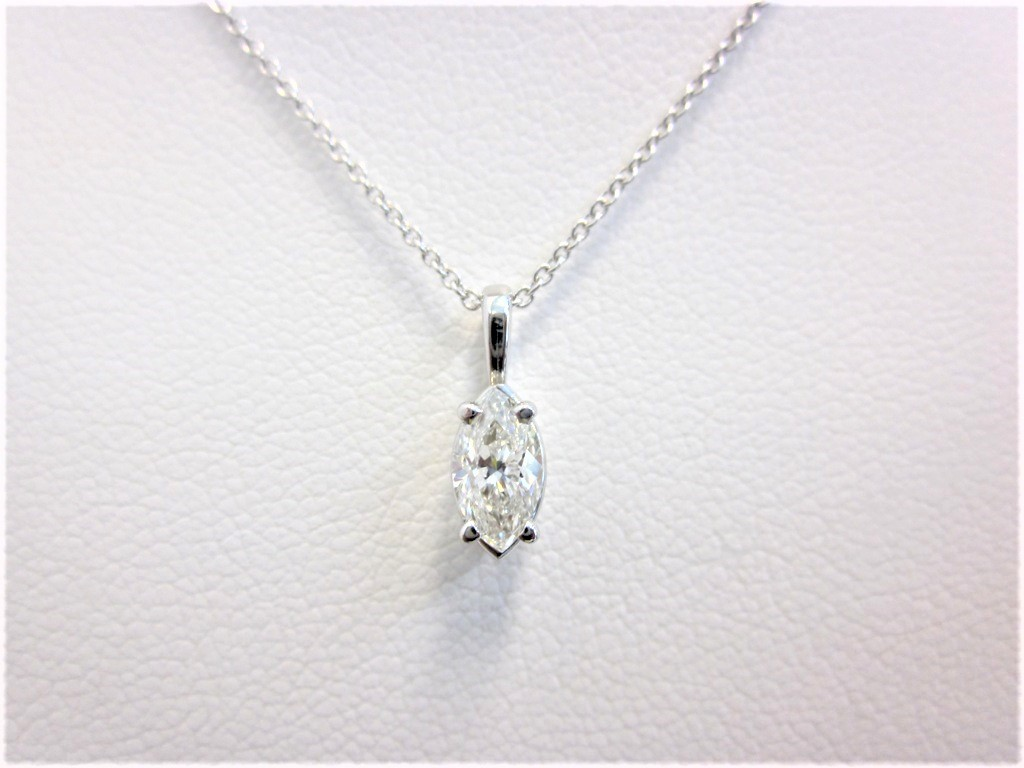 Two stone diamond pendant in 14k white gold donna jewelry co sale aloadofball Images